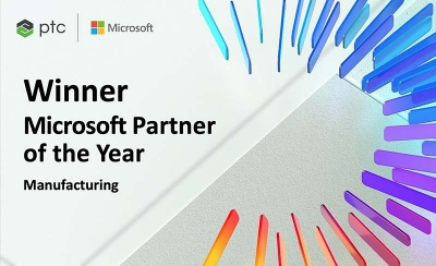 PTC nombrada Global Manufacturing Partner of the Year por Microsoft