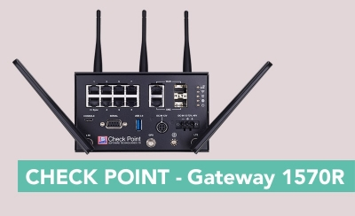CHECK POINT SOFTWARE TECHNOLOGIES - 1570R Rugged Security Gateways
